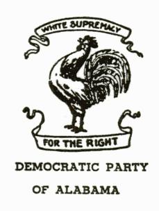 Alabama Democratic Party Logo until 1966
